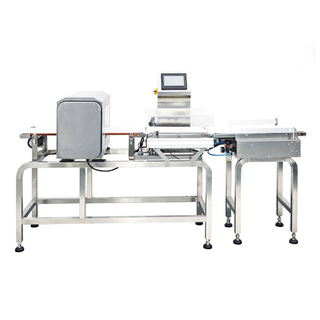 CHECK WEIGHER AND METAL DETECTOR 2 IN 1 MACHINE