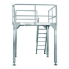 STAINLESS STEEL WORKING PLATFORM